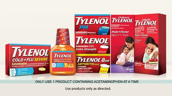TYLENOL® products that you can save on today!