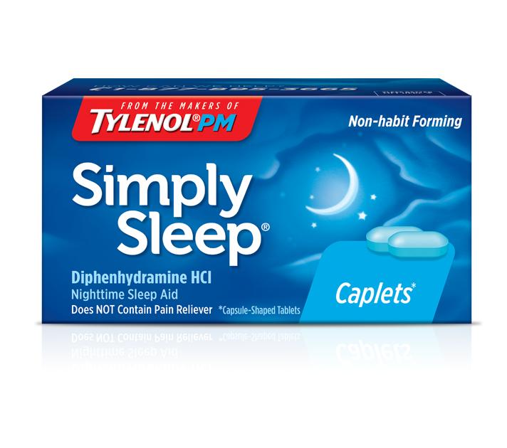 Simply Sleep® - Sleep Aid | TYLENOL®