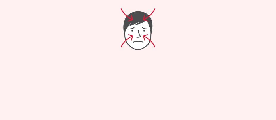 Presión sinusal dolor de cabeza y náuseas