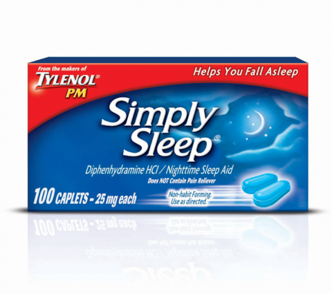 SIMPLY SLEEP® Caplets (Capletas)