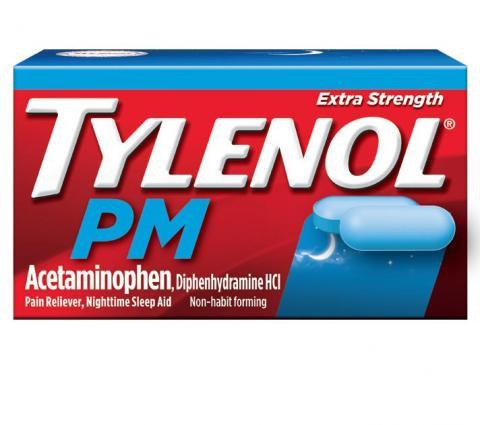 TYLENOL® PM Extra Strength Caplets (Capletas)