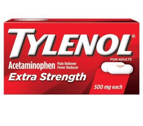 TYLENOL® Extra Strength Caplets (Capletas)