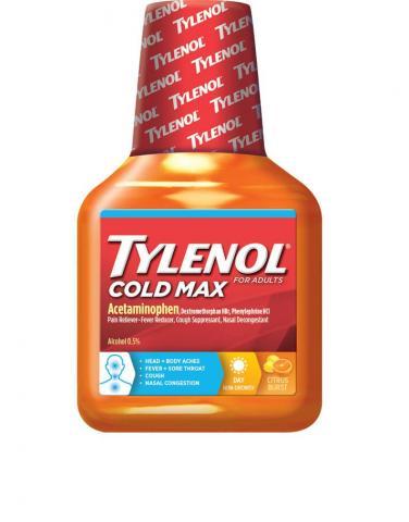 TYLENOL® Cold Max Daytime Citrus Burst Liquid