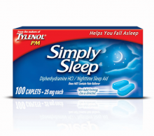 SIMPLY SLEEP® Caplets (Capletas)