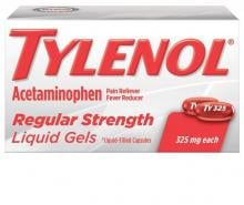 TYLENOL® Regular Strength Liquid Gels