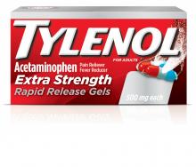 TYLENOL®  Extra Strength Rapid Release Gels