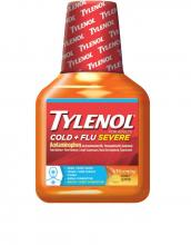 TYLENOL® Cold + Flu Severe Warming Honey Lemon Liquid (Jarabe, miel y limón)