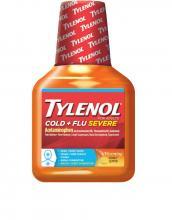 TYLENOL® Cold + Flu Severe Warming Honey Lemon Liquid