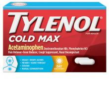 TYLENOL® Cold Max Daytime Caplets