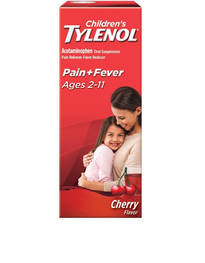 Childrens TYLENOL® Pain and Fever (Sabor a cereza)