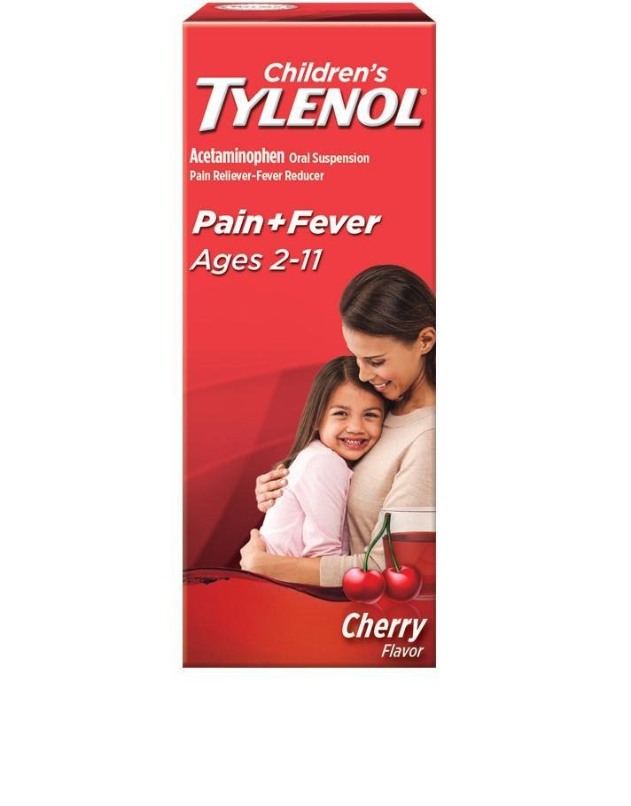 Childrens TYLENOL®  Pain and Fever cherry flavor