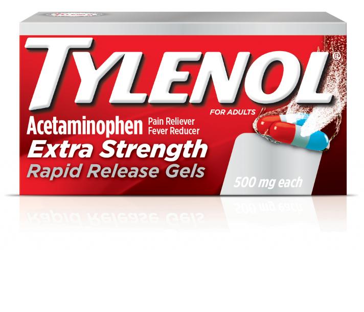 Tylenol 174 Rapid Release Gels