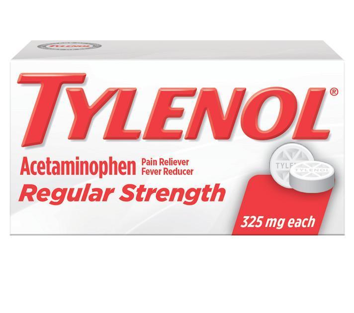 TYLENOL® Regular Strength Tablets (Tabletas)