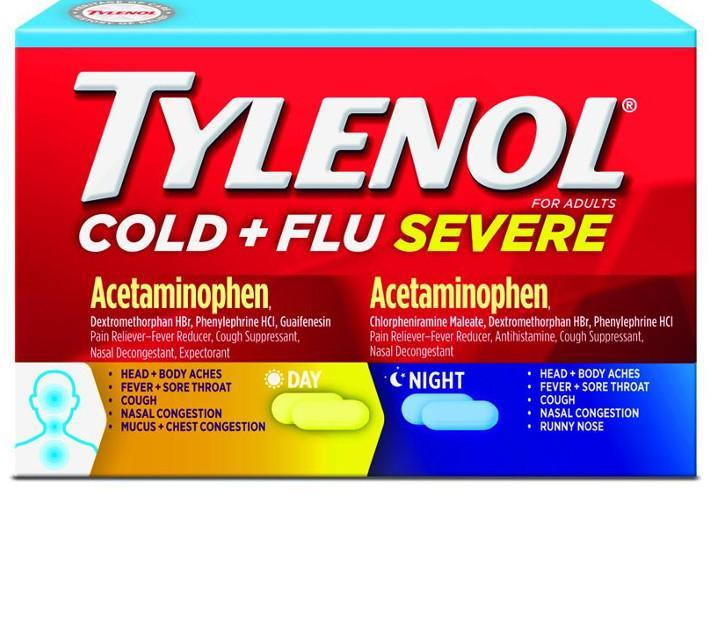 TYLENOL® Cold and Flu Severe for Day and Night