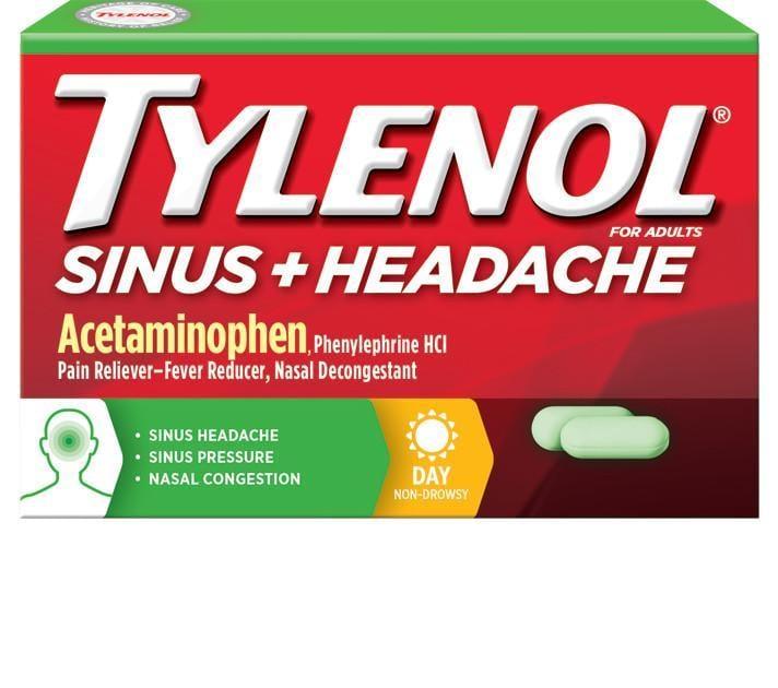 TYLENOL® SINUS CONGESTION & PAIN DAYTIME | TYLENOL®