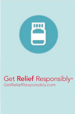 Get relief responsibly icon
