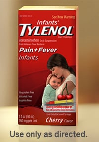 Infants' TYLENOL® Oral Suspension
