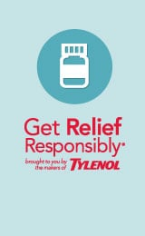 tylenol get relief responsibly small
